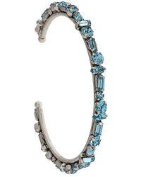 DANNIJO Cielo Embellished Cuff Bracelet - Metallic