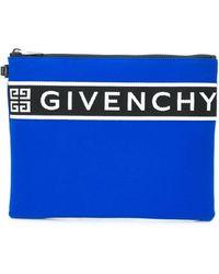 Givenchy Borsellino con logo - Blu