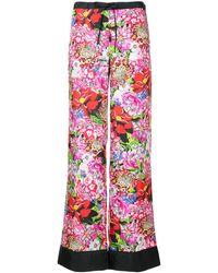 Mary Katrantzou Floral Print Pants - Red