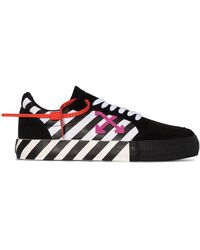 Off-White c/o Virgil Abloh Arrow Vulcanised Low-top Sneakers - Zwart
