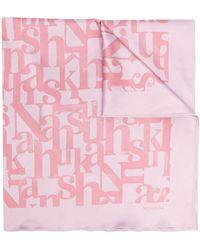 Nanushka Платок Soleil - Розовый
