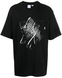 Vans ワッフルプリント Tシャツ - ブラック