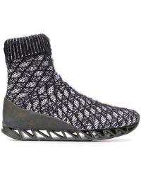 Bernhard Willhelm X Camper Together Himalayan Sock Boots - Black