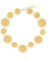 Ileana Makri - Flower Necklace - Lyst