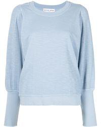Apiece Apart Olympio Round-neck Sweatshirt - Blue