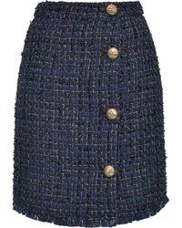 Pinko ツイード スカート - ブルー