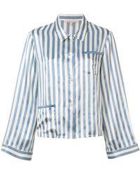 Morgan Lane - Striped Pyjama Set - Lyst