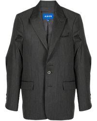 ADER error テーラード シングルジャケット - ブラック
