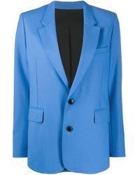 AMI シングルジャケット - ブルー