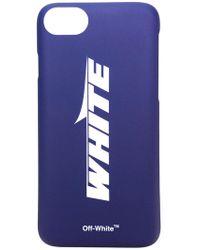 Off-White c/o Virgil Abloh - Logo Iphone 8 Case - Lyst