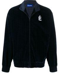 Etudes Studio Major ベルベット トラックジャケット - ブルー