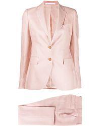 Tagliatore - Single Breasted Slim-fit Suit - Lyst