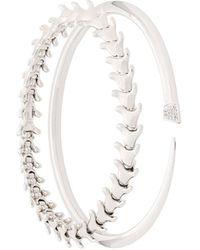 Shaun Leane Serpent And Signature Tusk Diamond Bracelet Set - Metallic