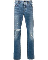 Saint Laurent - Slim Jeans - Lyst