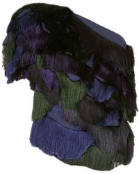 Rachel Comey Blusa monospalla - Multicolore