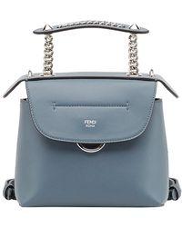 Fendi Mochila mini Back To School - Azul