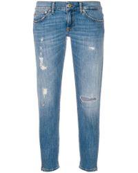 Dondup - Jeans in Distressed-Optik - Lyst