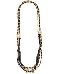 Camila Klein - Embellished Long Necklace - Lyst