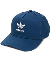 adidas Pet Met Geborduurd Logo - Blauw
