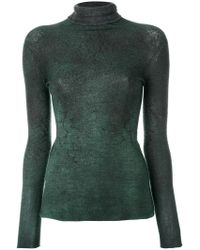 Avant Toi - Roll Neck Sweatshirt - Lyst