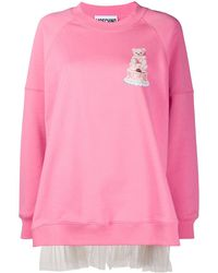 Moschino チュール スウェットシャツ - ピンク