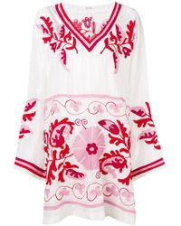 P.A.R.O.S.H. - Embroidered Kaftan - Lyst
