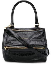 Givenchy Bolso Pandora con asa en el tope - Negro