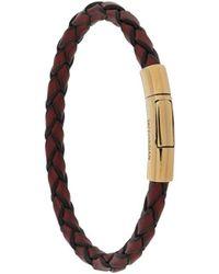 Tateossian Pop Scoubidou Bracelet - Brown