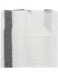 Altea - Striped Scarf - Lyst