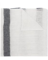 Altea - Striped Scarf - Lyst