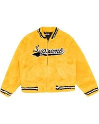 Supreme Varsity Bomber Jacket - Yellow