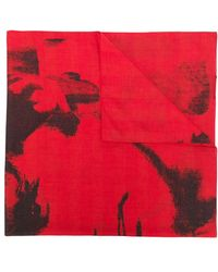 CALVIN KLEIN 205W39NYC - X Andy Warhol Painted Look Scarf - Lyst