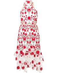Thurley - Embroidered Floral Dress - Lyst