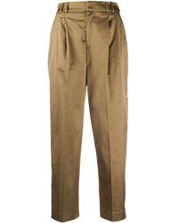 PT01 - Pantalon à coupe crop - Lyst