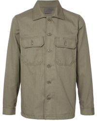 Naked & Famous - Military Style Shirt - Lyst