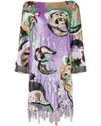 Emilio Pucci スパンコール ドレス - マルチカラー