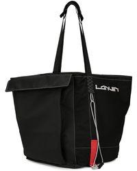 Lanvin オーバーサイズ ハンドバッグ - ブラック