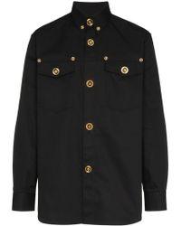 Versace Button down shirt - Nero