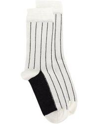 Haider Ackermann - Beryl Stripe Socks - Lyst