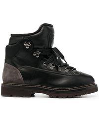 Brunello Cucinelli Массивные Ботинки Хайкеры - Черный