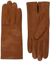 Agnelle Перчатки Kate - Коричневый