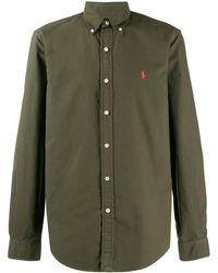 Ralph Lauren Chemise à logo brodé - Vert