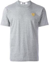 Play Comme des Garçons - Heart T-shirt - Lyst
