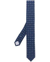 Eleventy - Floral Print Tie - Lyst