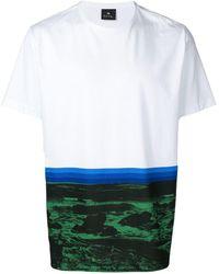 PS by Paul Smith カラーブロック Tシャツ - マルチカラー