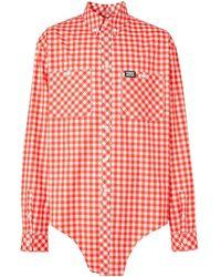 Burberry - Рубашка В Клетку Гингем - Lyst