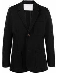 Societe Anonyme Chaqueta de traje con botones - Negro