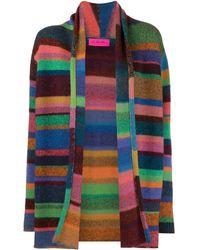 The Elder Statesman Cardigan a righe - Multicolore