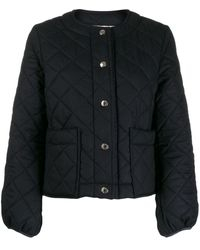 Mackintosh Keiss Quilted Jacket | Lq-1003 - ブルー