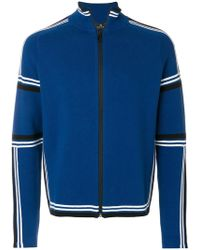 PS by Paul Smith - Funnel-neck Zip-front Cardigan - Lyst